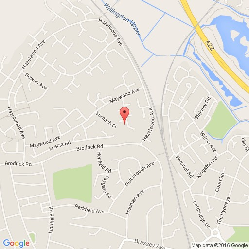 3 bedroom end of terrace house to rent in linden close for Terrace view map