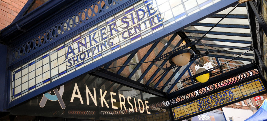 Ankerside shopping arcade