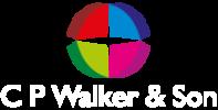 C P Walker logo