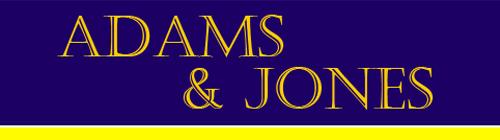 Adams & Jones logo