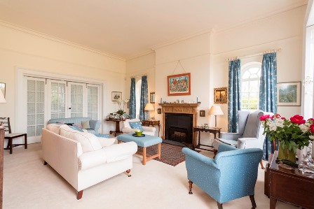 Country home for sale drawing room