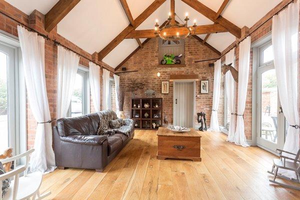 Impressive Garden Room in Barn Conversion