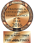 Training & Development Estate Agency of the Year BRONZE award