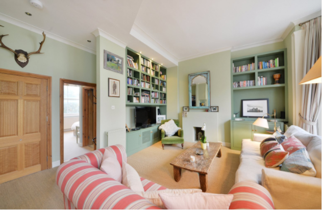 two bedroom apartment in Ladbroke Grove
