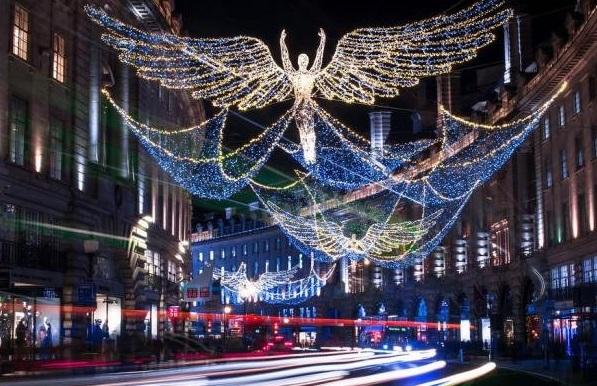 London at Christmas Walk