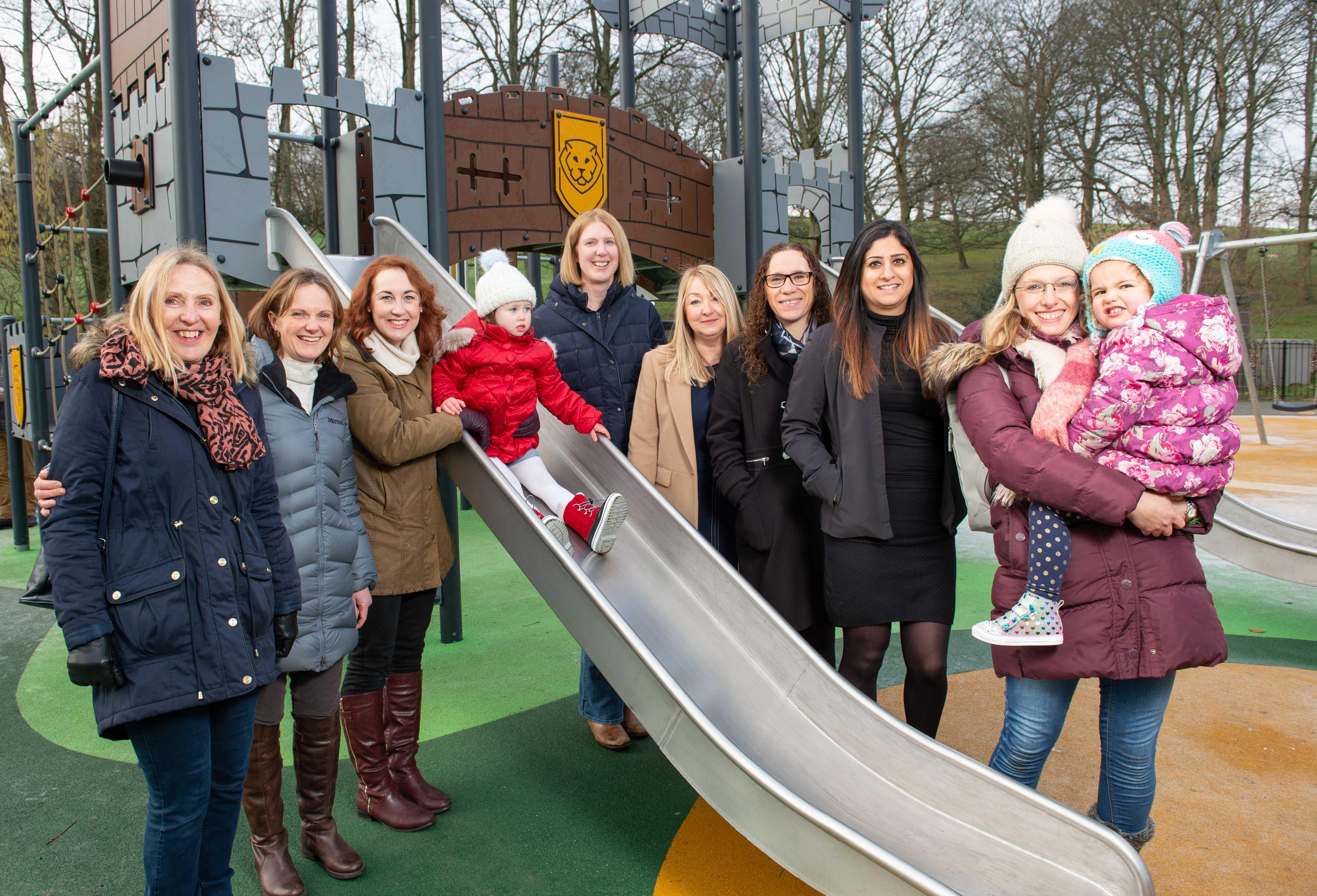 New roundhay park playground