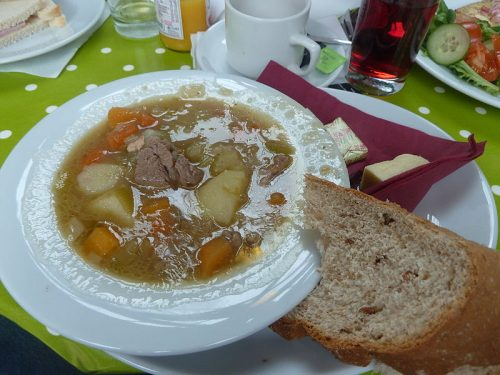 Cawl a traditional Welsh dish